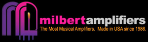 Milbert Amplifiers logo
